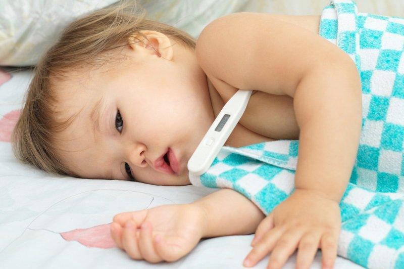 thân nhiệt của trẻ sơ sinh