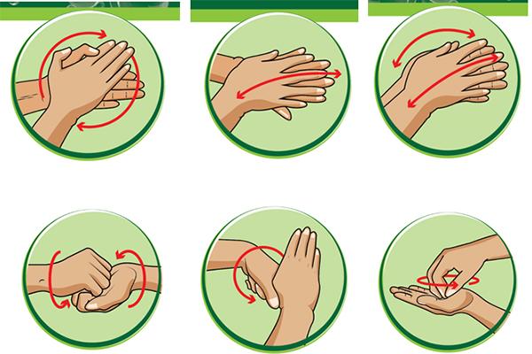 Hướng dẫn 6 bước rửa tay cho trẻ mầm non đúng cách