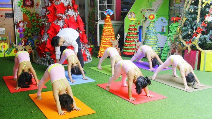 Tác dụng của việc tập yoga cho trẻ mầm non và các bài tập cơ bản